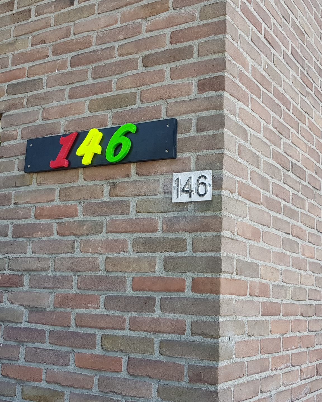 Ledverlichte huisnummers