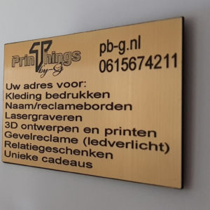 Signs/gevelreclame
