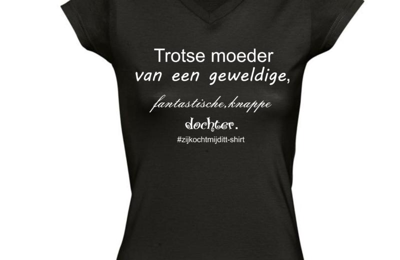 T-shirt voor moeder