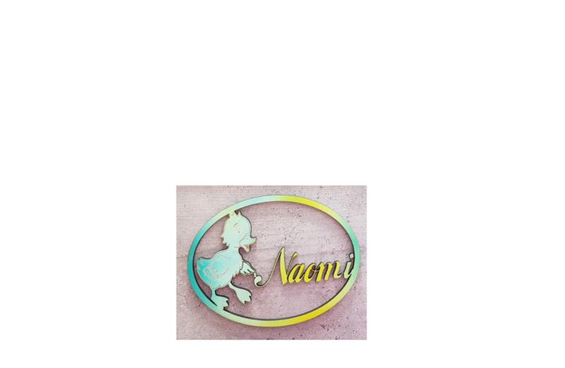 Naambordje voor baby/kinderkamer
